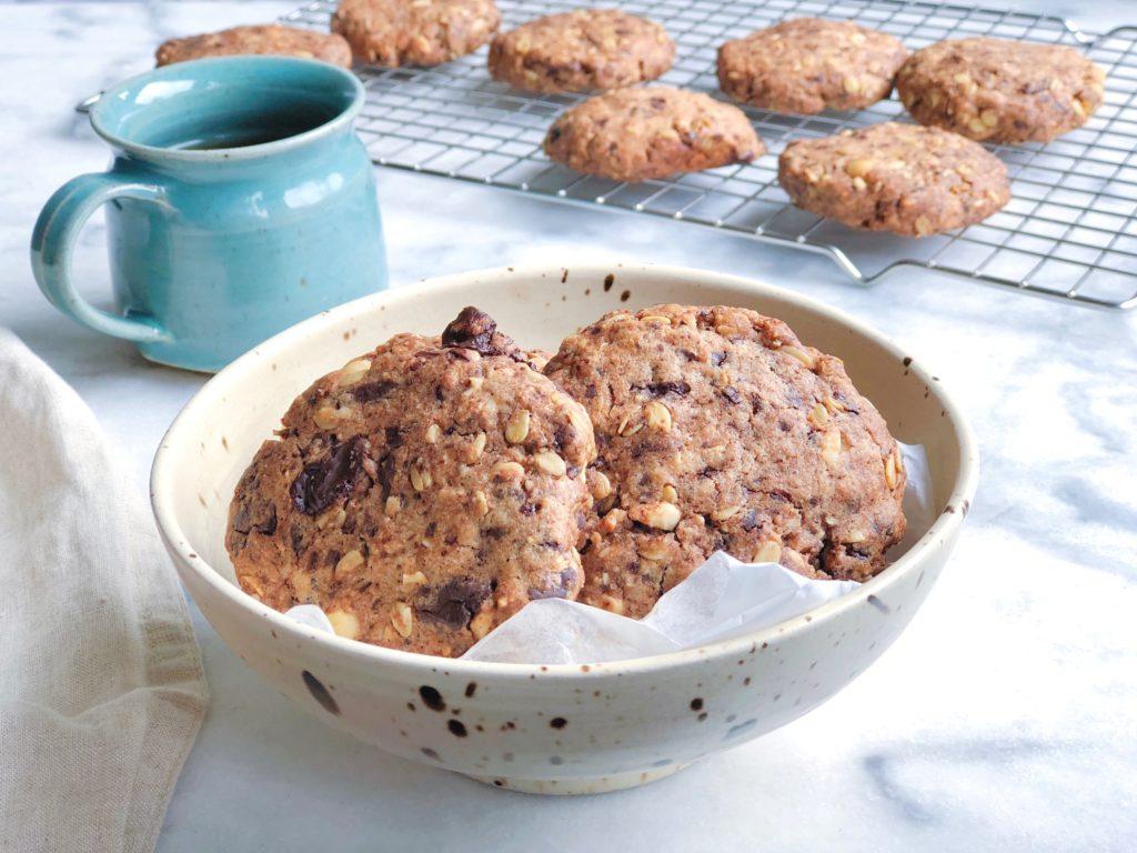 Makkelijke koekjes met chocolade