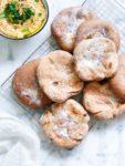 Gezonde pita broodjes van volkoren speltmeel maken