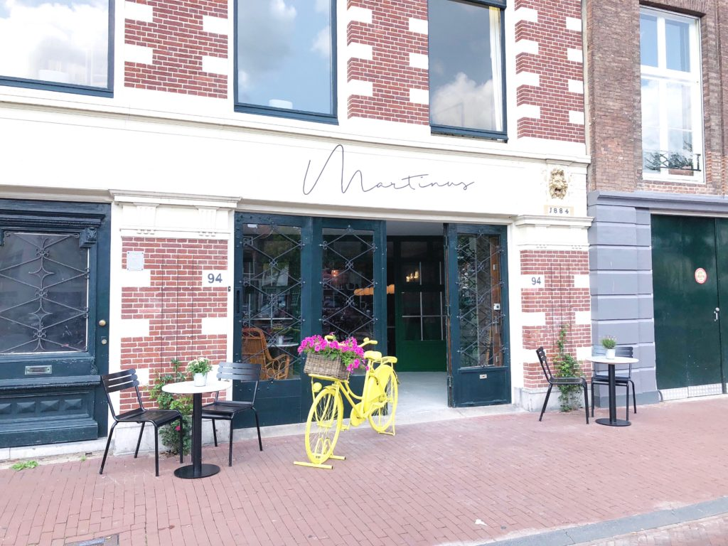 Cafe Martinus Spaarne Haarlem, made by ellen