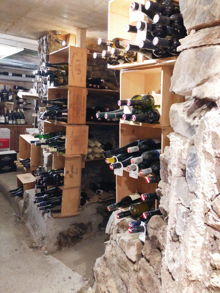 Wijnkelder Annemarie fiool kitzbuheler alpen made by ellen