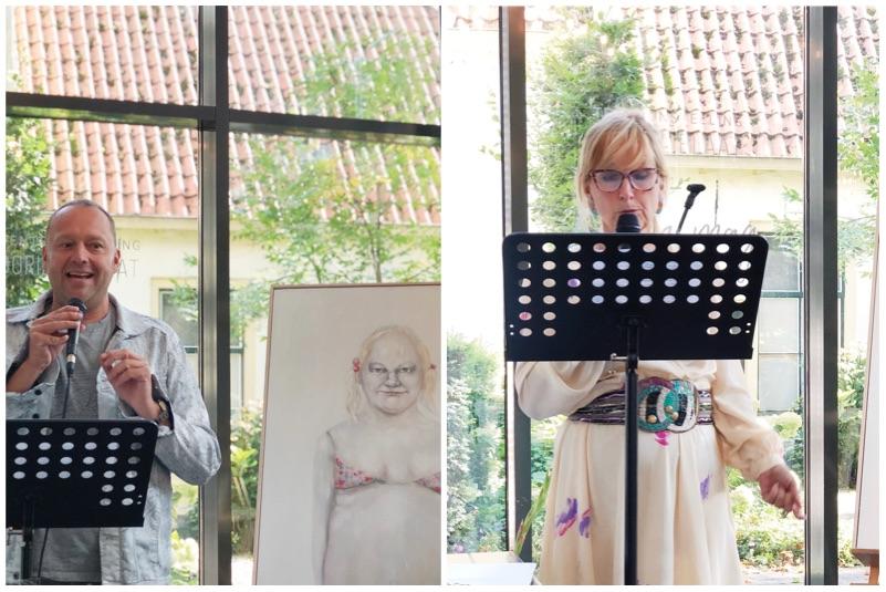 Dorien Plaat Schilderijen tentoonstelling Stadsmuseum Harderwijk