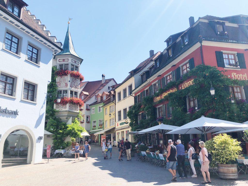 dorpje meersburg, Bodensee