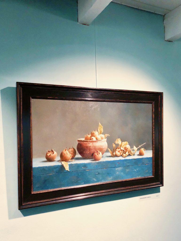 Stilleven schilderij marius van Dokkum, made by Ellen