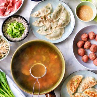 Chinese fondue, made by ellen