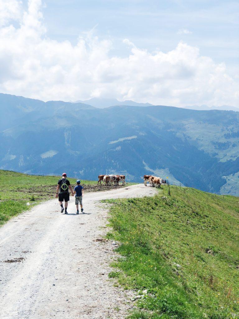 wandelen in oostenrijk kitzbueheler alpen made by ellen