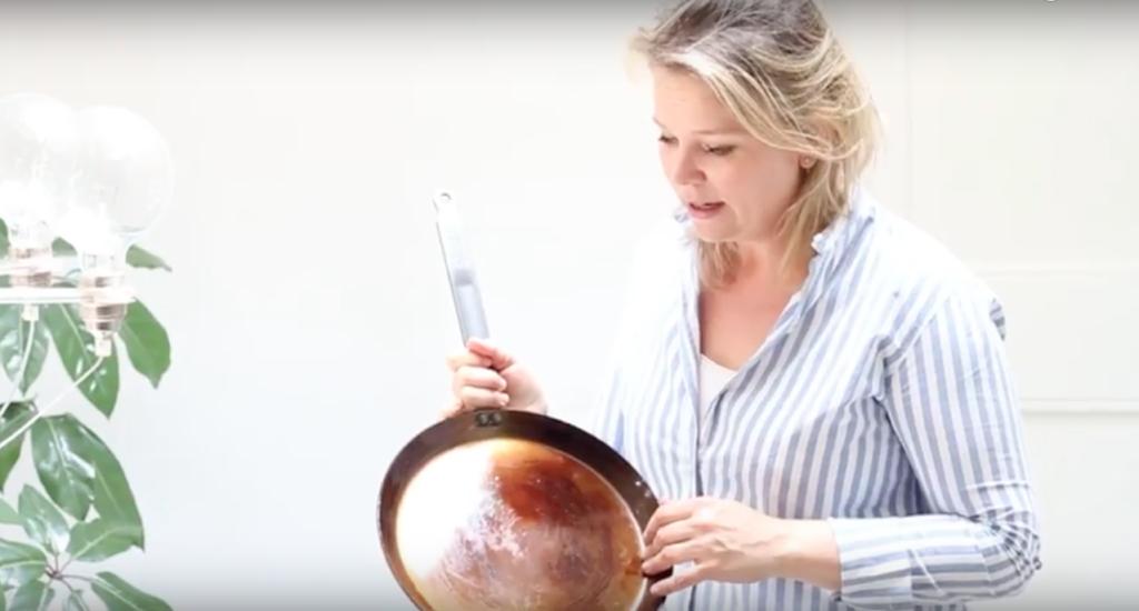 Pan inbranden made by ellen