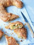 Hartige banketletter met kaas, spekjes & broccoli