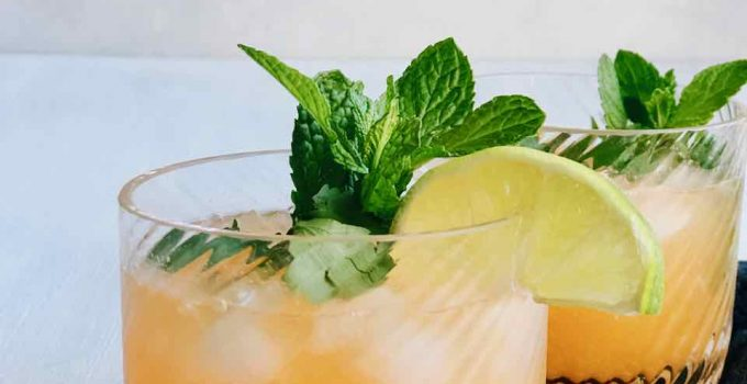 Mocktail recept met crodino, limoen & gember