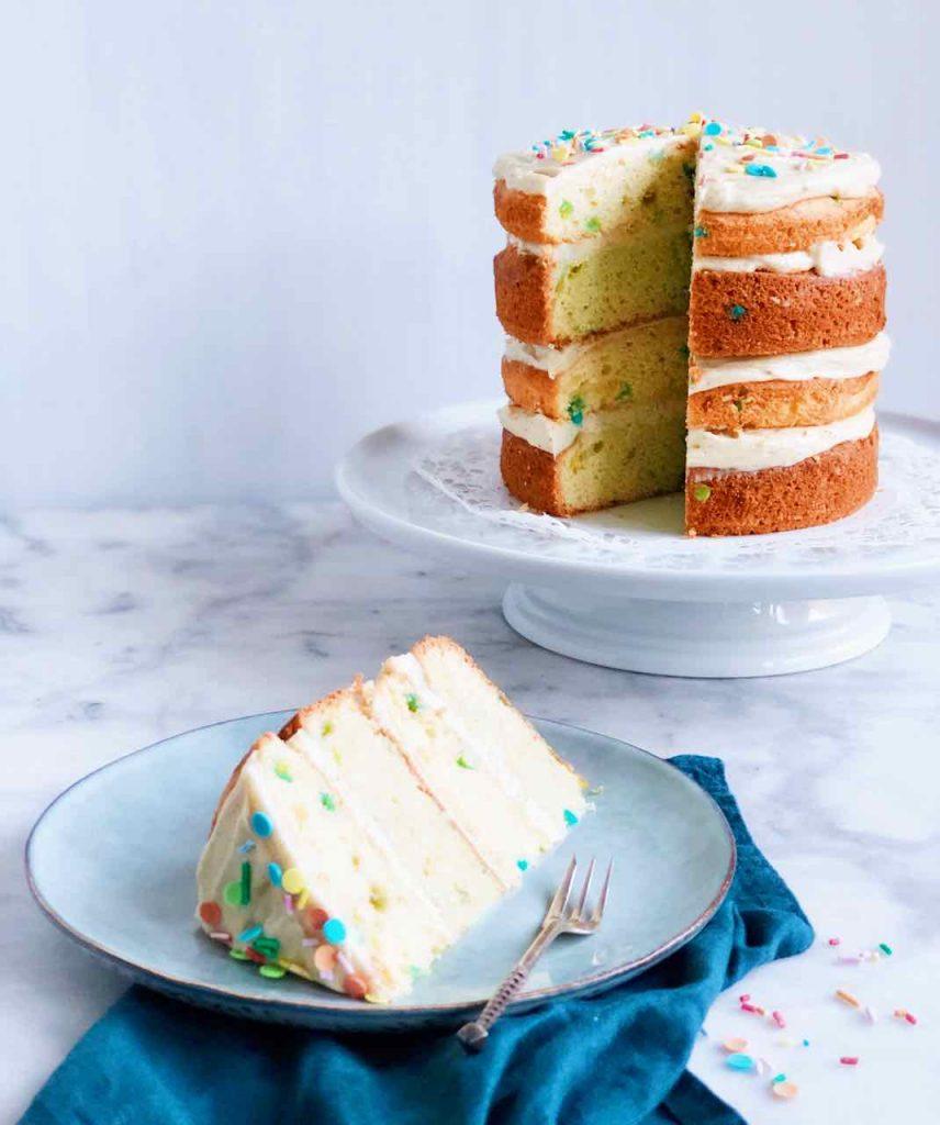 Funfetti cake recept