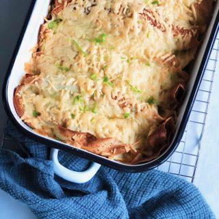 Recept voor hartige pannenkoeken wraps met witlof, kaas en spek made by ellen