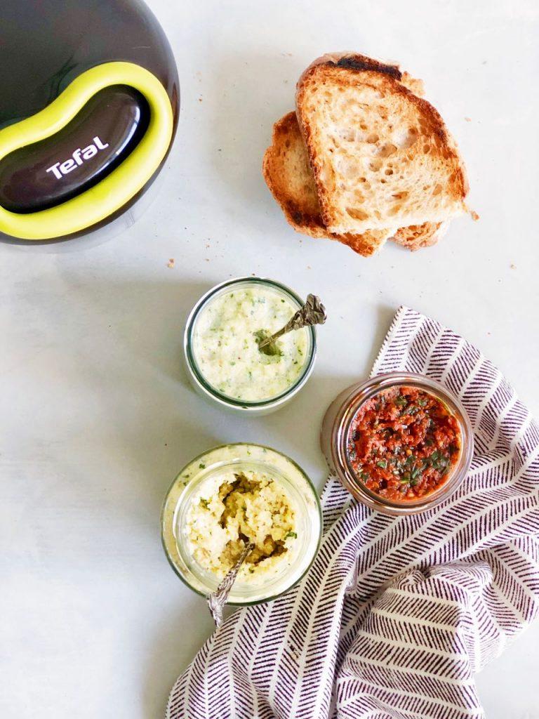 Tefal chopper recepten groente spreads made by ellen