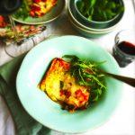 Wat eten we vandaag? aubergine lasagne uit de oven made by ellen