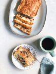 Oliebollen brood van oliebollenbeslag