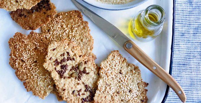 Havermout crackers maken