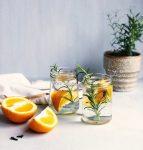 Sinaasappel thee met rozemarijn en kruidnagel