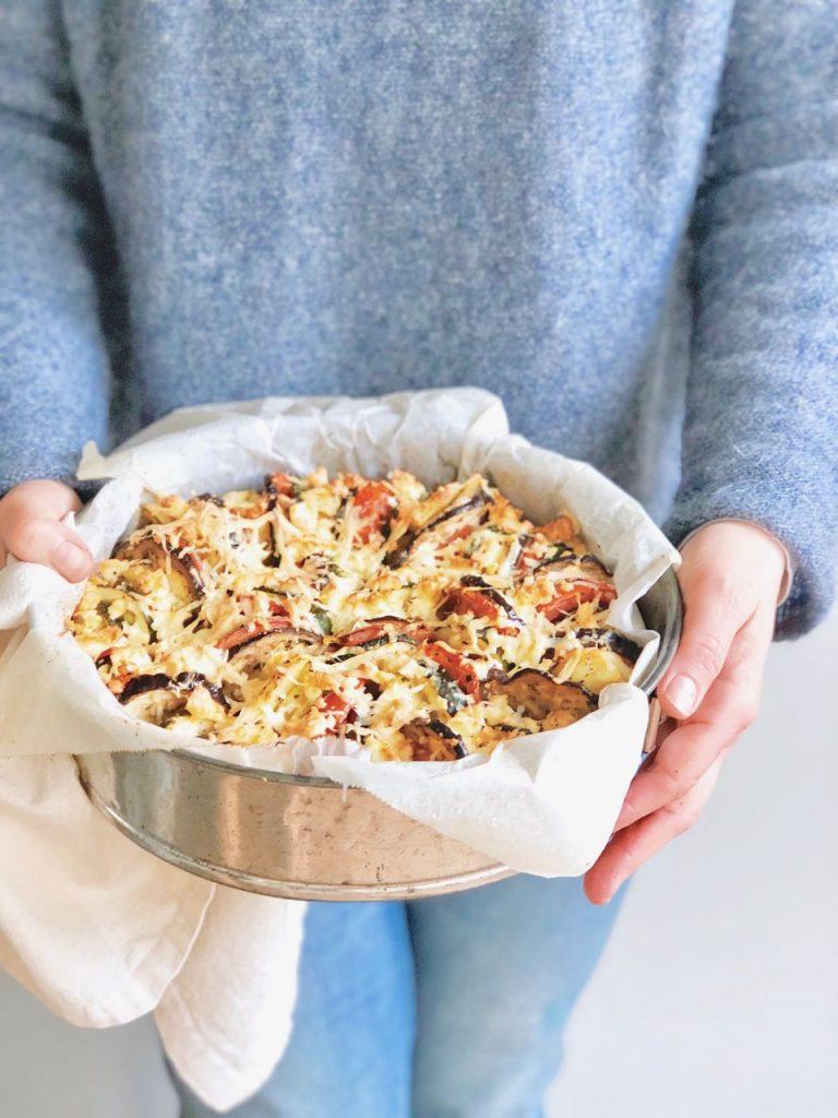 Aardappel groentetaart made by ellen