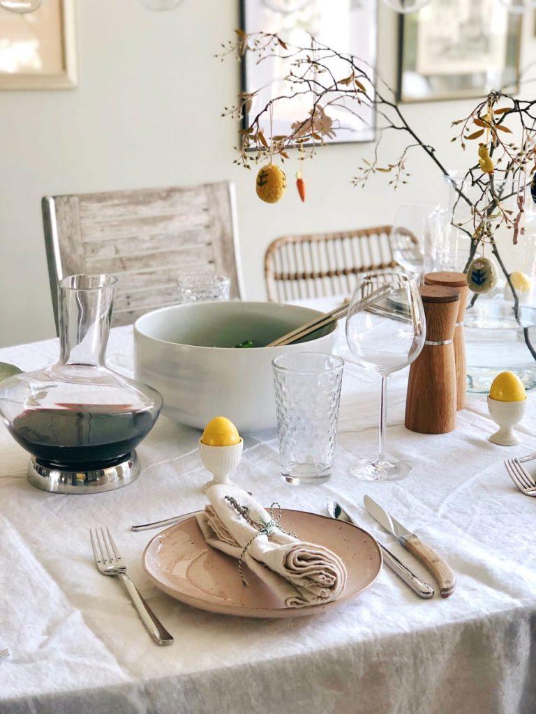 tafel dekken etentje thuis made by ellen