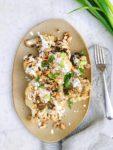 Recept Geroosterde bloemkool met za'atar en feta dressing