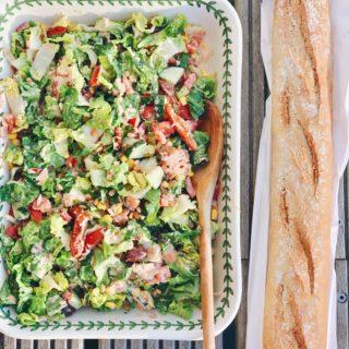Recept voor Italiaanse tonijnsalade, made by ellen