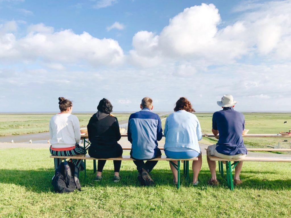 Ontbijten op de dijk noordpolderzijl groningen