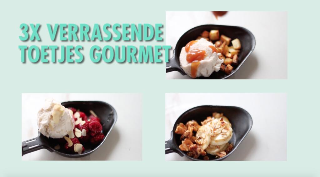 Toetjes gourmet, dessert recepten