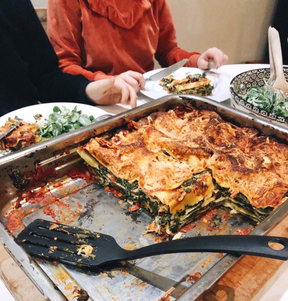 Lasagne voor 8 à 10 personen of een grote groep