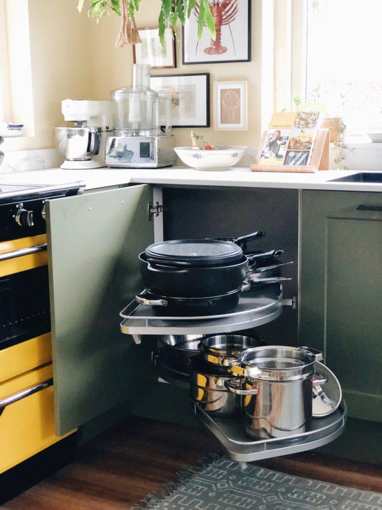 La Mans pannensysteem nieuwe keuken