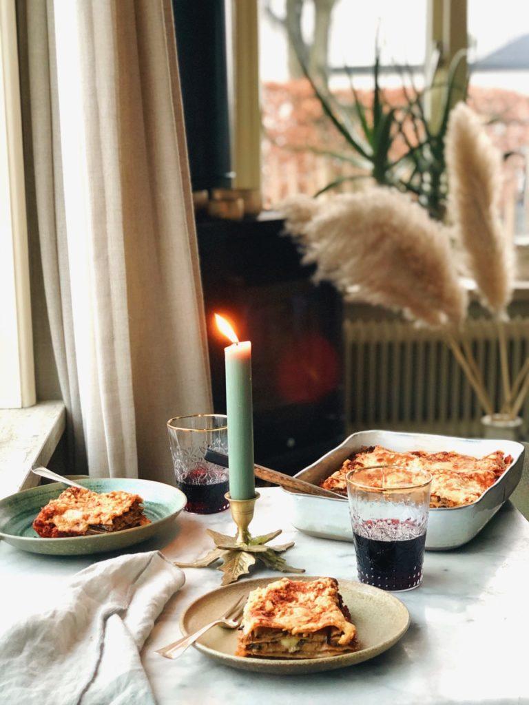 Aan tafel! Met volkoren lasagne
