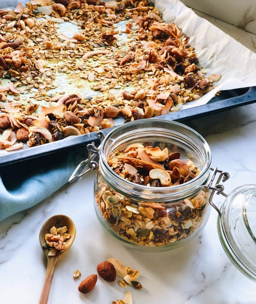 Gezonde granola recepten