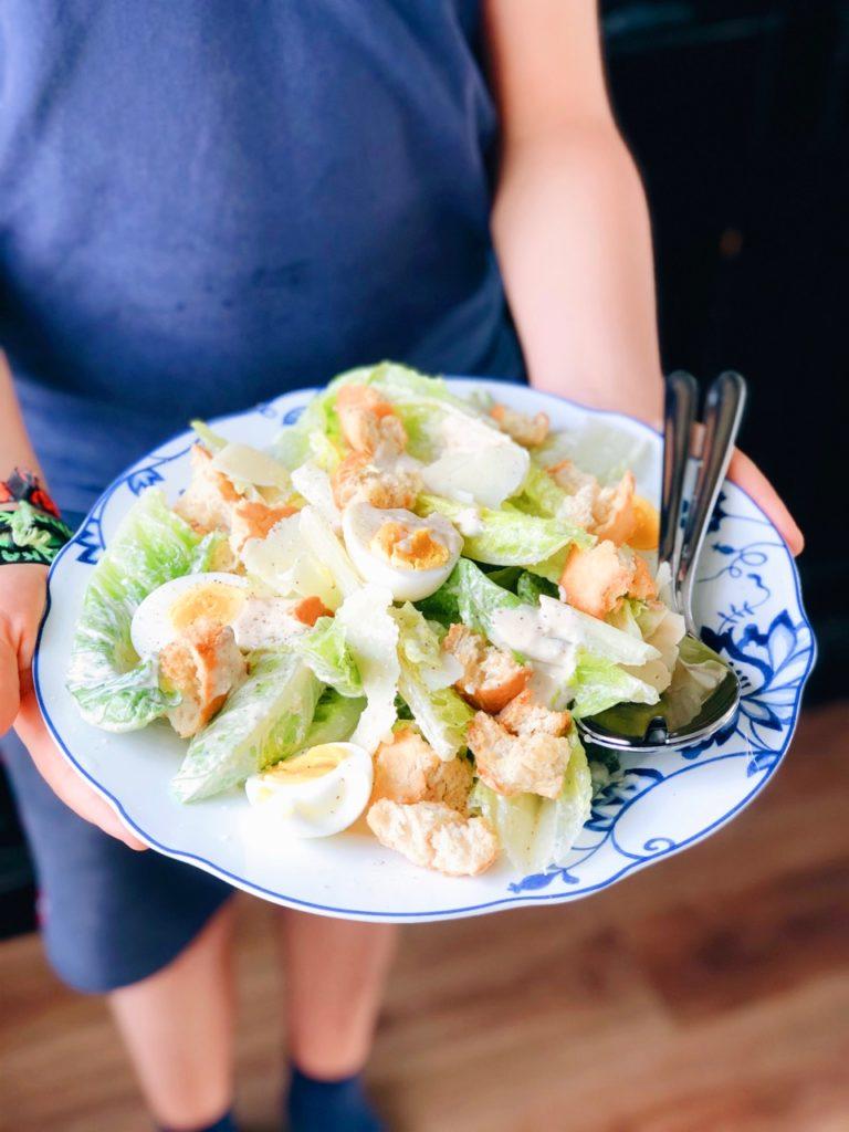 lekkerste caesar salade dressing
