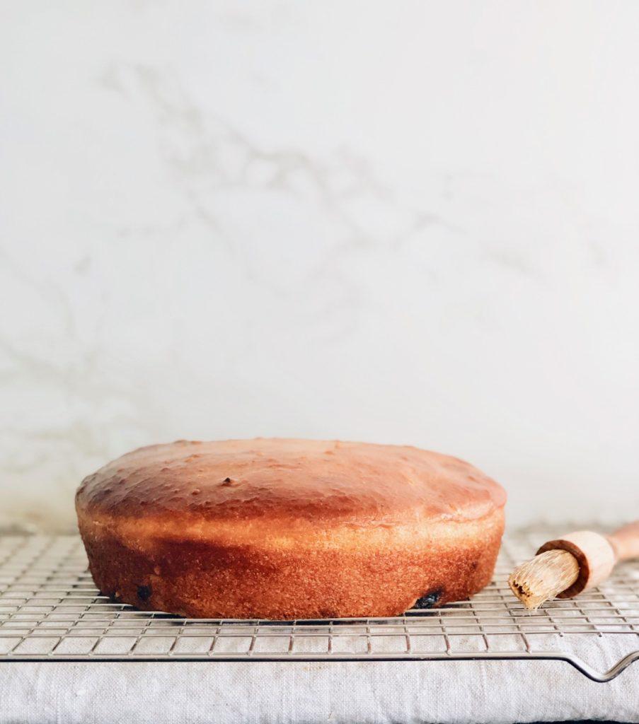 Zuurdesem cake