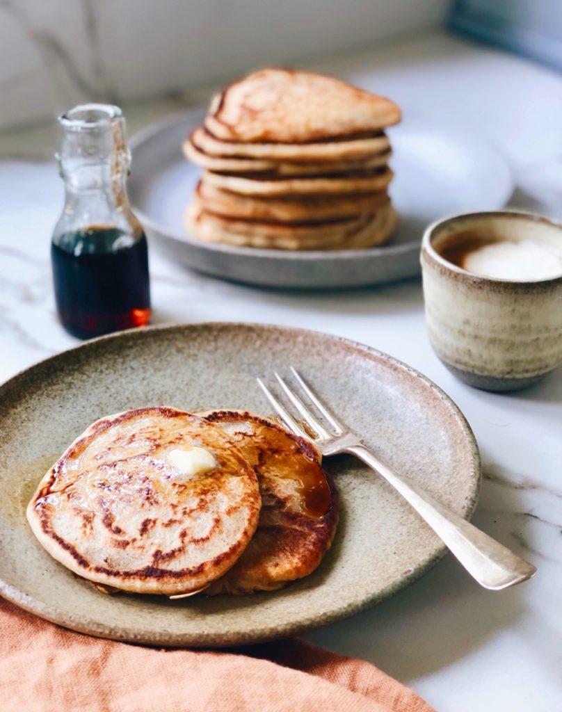 Zuurdesem pancakes