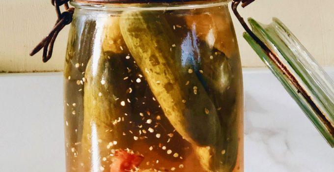 Gefermenteerde komkommer